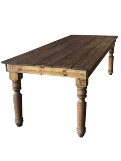 8 ft farmhouse table farm table sonoma 8 ft ultrapom wedding and event