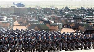 China flexes military muscle during massive parade to mark ...