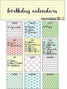 21 birthday calendar templates free sample example With family birthday calendar template