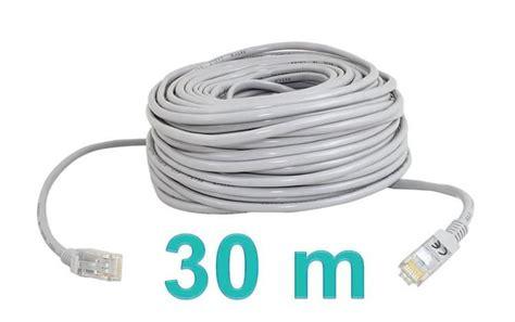 lan kabel 30m s 237 ťov 253 kabel lan 30m kategorie multim 233 dia kabely
