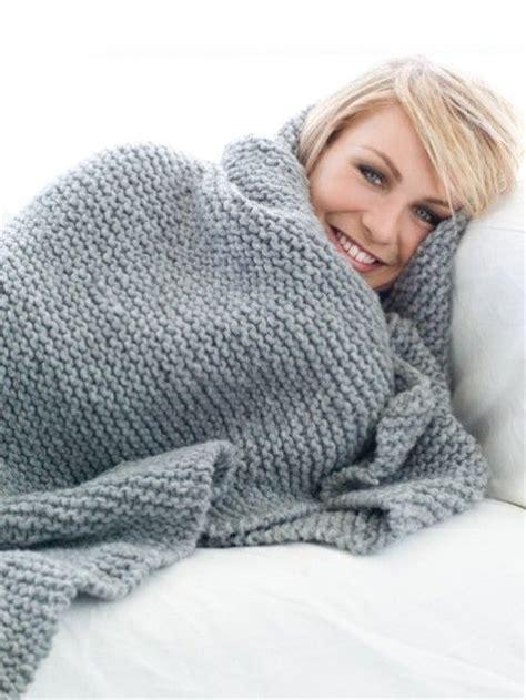Schwere Decke Selber Machen by Die Besten 25 Stricken Decken Ideen Auf