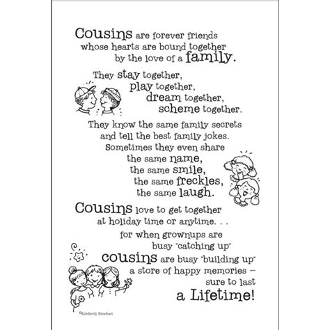 Family Quotes For Scrapbooking Cousins