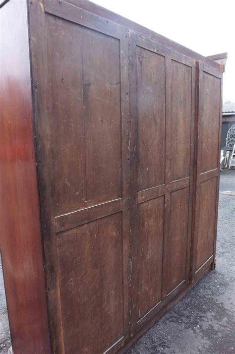 Wardrobes For Sale by Mahogany Breakfront Wardrobe For Sale Antiques