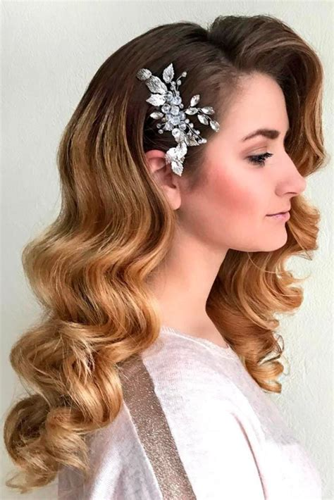 Curled Prom Hairstyles by The 25 Best Retro Hairstyles Ideas On Wedding