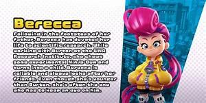 Check Out Character Profiles For Ninjala 39 S Berecca And