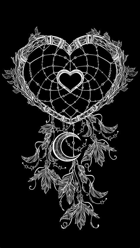 Heart shaped dreamcatcher in 2019 | Dream catcher drawing, Dream catcher tattoo, Dreamcatcher