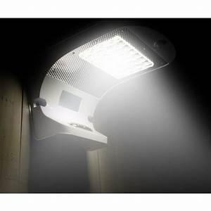 Lampe Exterieur Murale : lampe murale panneau solaire led jardin ext rieur reflex 28 led lr006led ~ Teatrodelosmanantiales.com Idées de Décoration