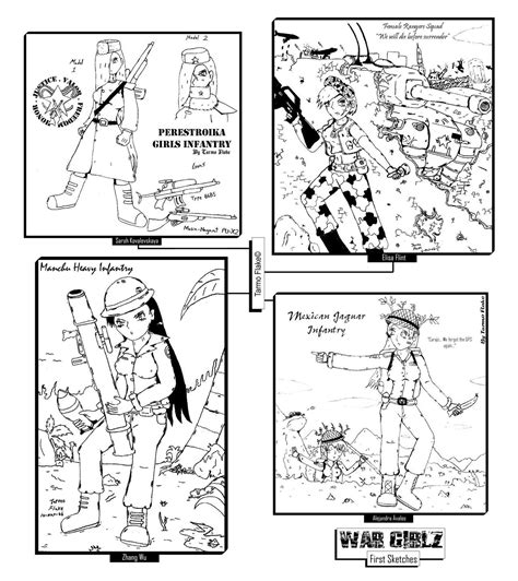 Omg Girls Free Colouring Pages
