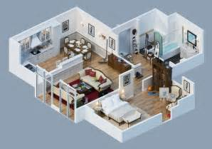 floor and decor plano apartment designs shown with rendered 3d floor plans