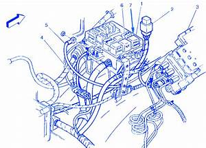 Chevrolet Diesel 3500 1999 Electrical Circuit Wiring