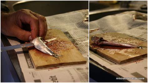 cuisiner des sardines fraiches filets de sardines marinés