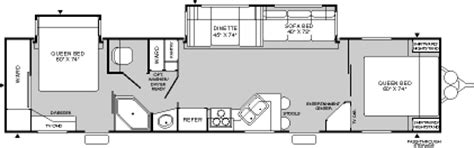 prowler travel trailer floor plans 2004 fleetwood prowler travel trailer rvweb