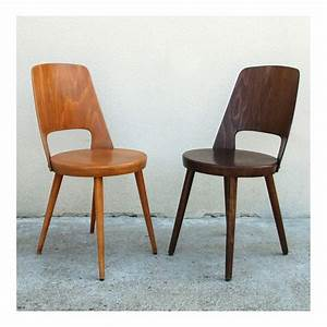 Chaise Bois Vintage : chaise bois clair ~ Teatrodelosmanantiales.com Idées de Décoration