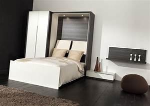 Lit Gain De Place : comparatif lit 2 personnes gain de place ~ Premium-room.com Idées de Décoration
