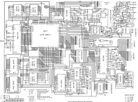 microprocessor map processor to circuit diagram