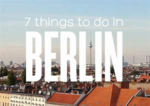 7 things to do in Berlin