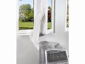 Klimaanlage Schlauch Fenster : sichler klimaanlage auslass abluft fensterabdichtung f r mobile klimager te hot air stop ~ Watch28wear.com Haus und Dekorationen