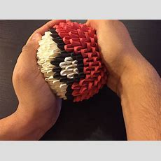 How To Make A 3d Origami Pokéball (with Pictures)  Wikihow