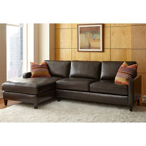 Chaise Sofa by Leather Sofa And Chaise Best 25 Brown Leather Sectionals