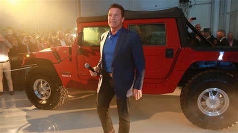 arnold schwarzeneggers dream   electric hummer