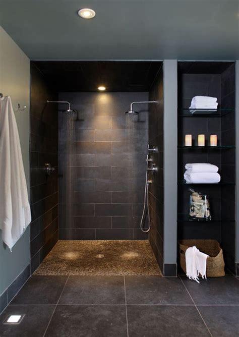 shower  doors ideas  pinterest open small