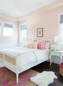 Ideale Farbe Für Schlafzimmer : 50 beruhigende ideen f r schlafzimmer wandgestaltung ~ Indierocktalk.com Haus und Dekorationen