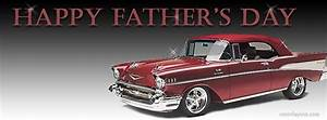 Happy Fathers Day Classic Car Facebook Cover CoverLayout ...