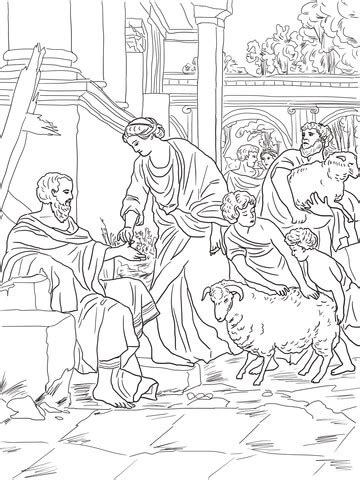 job restored  prosperity coloring page  printable