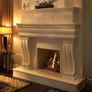 Cast Stone Fireplace Mantels