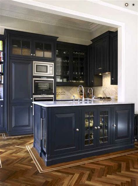 navy blue bottom kitchen cabinets coastal kitchens in navy maybe pacific home furniture
