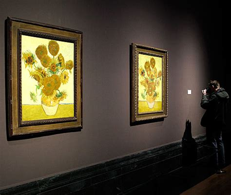 sunflowers   national gallery  tale   vincents flux magazine