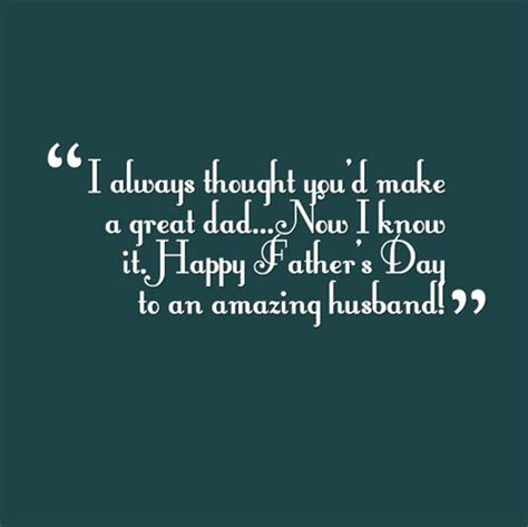 quotes for fathers day to my husband