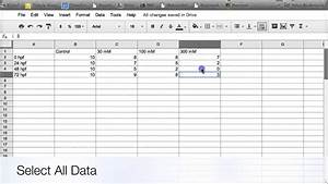 Making Graphs And Tables In Google Docs  Computer Version