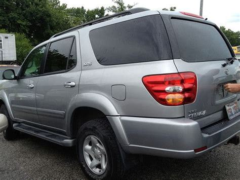 manual repair autos 2001 toyota sequoia interior lighting sell used 2001 toyota sequoia sr5 silver needs new radiator and engine in columbia missouri