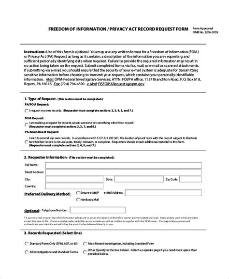 20020 records release form 10 sle information request forms sle templates
