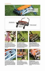 Fiskars 18 In  Cut Manual Push Non