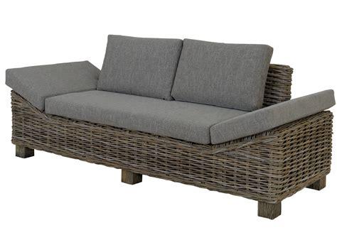 rattan sofa koobo dreisitzer 183 krines home