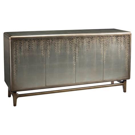 Silver Sideboard by Richard Vines Regency Painted Silver Leaf Sideboard