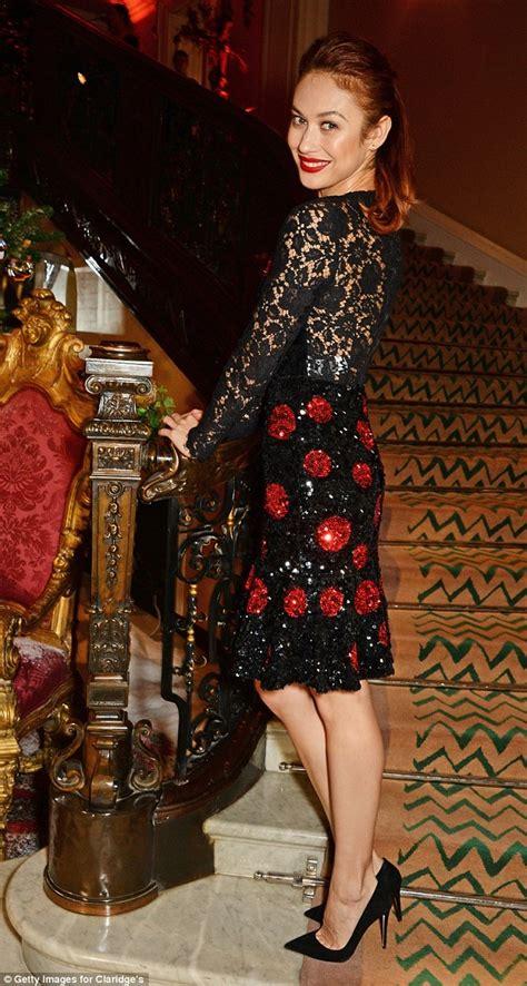 Christmas Staircase by Olga Kurylenko Lights Up The Room In Dazzling Polka Dot
