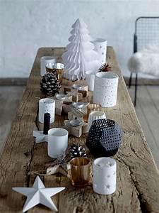 Idee Deco De Table Noel : 40 id es de d coration de noel au style scandinave ~ Zukunftsfamilie.com Idées de Décoration