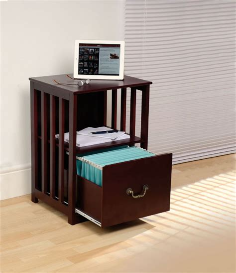 side table file cabinet zzz filing cabinet side table mahogany