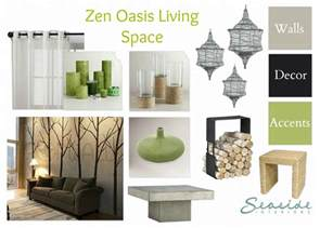 Brown And Aqua Living Room by Seaside Interiors Zen Spa Retreat Living And Dining Room