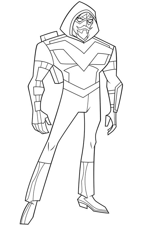 justice league action coloring pages getcoloringpagescom