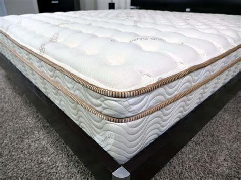 on me mattress loom and leaf vs saatva mattress review sleepopolis