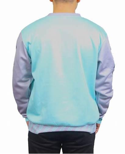 Sweatshirt Crewneck Sublimated Printed Custom Sublimation Coastal