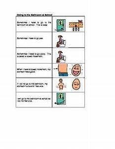Social stories on pinterest social stories children and for Using the bathroom social story