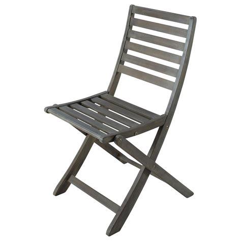 chaise pliante greyed acacia wood folding garden chair st malo maisons