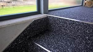 Bodenbelag Außenbereich Frostsicher : steinteppich treppe einzigartig steinteppich der fugenlose bodenbelag f r den innen und ~ Sanjose-hotels-ca.com Haus und Dekorationen