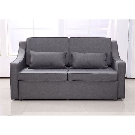 Bed Sleeper Sofa by Sofa Bed Convertible Linen Lounge Sleeper Adjustable