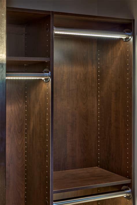 illuminated closet rods modern masterpiece omaha ne